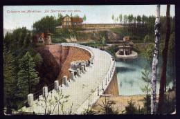 A2967) Marklissa-Staumauer Ansichtskarte 1907 Gebraucht Used - Schlesien