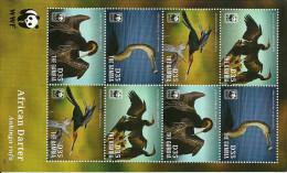 Gambia / Birds / WWF / Block With 2 Sets - W.W.F.