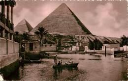 EGYPTE MENA VILLAGE AND GIZA PYRAMIDS - Altri