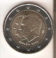 MONEDA DE ESPAÑA DE 2 EUROS DEL AÑO 2014 DE FELIPE VI   NUEVA-MINT - Espagne
