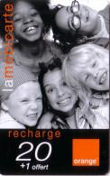 REUNION RECHARGE ORANGE ENFANTS KIDS 20 VALID 12.05 UT - Reunion