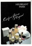 Parfums - Houbigant, Paris - Quelques Fleurs L'Original - Perfume Cards