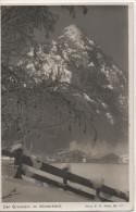 Nr. 3310,  AK  Grünstein Im Winterkleid, Stempel Skimeisterschaft Der Deutschen In Berchtesgaden - Ohne Zuordnung