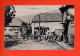 CONTREVOZ (Ain) - La Place - Alambic - Bouilleur De Cru - SUPERBE CARTE (E) - Non Classés