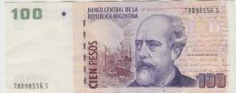 ARGENTINE 100 Pesos 1999 VF+ P351 - Argentine