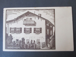 Postkarte WEKO - Heim Nr. 370 / 371 Verlag J. Jockers, Endorf. Baur & Söhne Freilassing - Briefe U. Dokumente