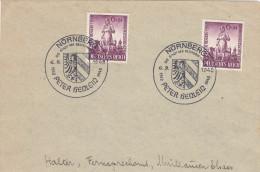 Lettre Avec Cachet De Nürnberg (Peter Henlein, Inventeur De La Montre) - Relojería
