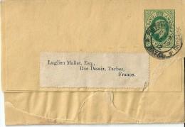 Carte -  Lettre    Entier  Postal  D' Affrique  Du  Sud  En  Direction  De  Tarbes   ( 65 ) - Afrique Du Sud (1961-...)
