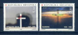 Croatia 1995 Croacia / History Memory Tragedies MNH Historia Tragedias Recuerdos / Iv21  2 - Non Classificati
