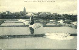 N°617A -cpa Le Croisic- Les Marais Salants - - Other