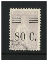 PORTUGAL - Ceres Stamp With Surcharge  - Afinsa Nrº 483- Used - Usado