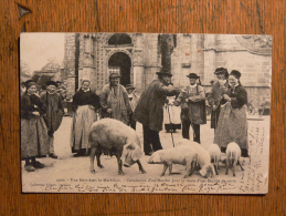 MORBIHAN - Une Foire - Vente De Porcs - Otros Municipios