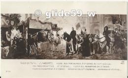 Salon De Paris - J.J. WEERTS - Foire Aux Parchemins à St Denis Au XVè Siècle - N° 3731 - NEUVE ! - Peintures & Tableaux