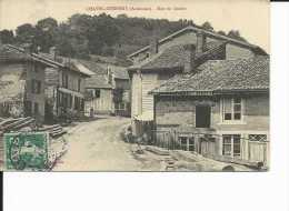 CPA CHATEL CHEHERY @ RUE DU GOULET @ - Unclassified