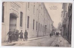 Carte 1910 ALAIS / CASERNE TOIRAS : RUE PASTEUR - Alès