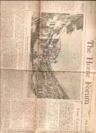 BOSTON USA THE HOME FORUM THE CHRISTIAN SCIENCE MONITOR  TUESDAY OCTOBER 3 1944 - Religion/ Spiritualisme