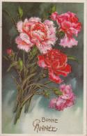 Bonne Année - Un Magnifique Bouquet De Fleurs - Holidays & Celebrations