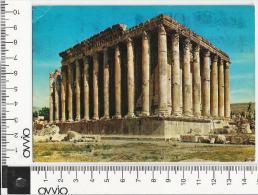 LIBANO) BAALBEK  Tempio  di Bacco 1975 viaggiata