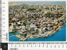 LIBANO) BEIRUT 1975 viaggiata Aerea Timbro ANNO SANTO sul dorso