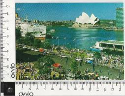 AUSTRALIA) SYDNEY -Overseas Terminal- 1982 Viaggiata Aerea Animata - Sydney