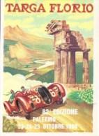 Targa Florio 1998  - Alfa Romeo  -  Art Carte Par Aldo Brovarone  -  CP - Sport Automobile
