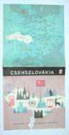 CZECHOSLOVAKIA - Mapas Geográficas