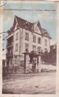 71 SAINT SYMPHORIEN Des BOIS  LA POUGE Vue Du CHATEAU GONDY Timbré 1933 - France