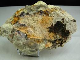 PETALITE ET LEPIDOLITE  13, X 8, CM CHEDEVILLE - Minerals
