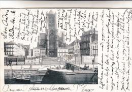 Gent, Gand, Quai Des Herbes, Binnenschip, Péniche (pk15385) - Gent