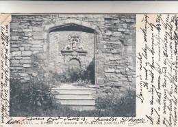 Gent, Gand, Ruines De L'Abbaye De St Bavon, Une Porte (pk15386) - Gent