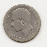 ALFONSO XII  1 PESETA  PLATA  1885  NL033 - [ 1] …-1931 : Reino