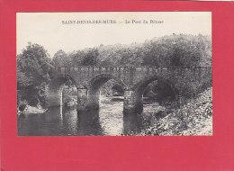 CPA - SAINT DENIS DES MURS  - Le Pont Du Râteau - France