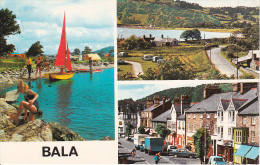 PC Bala (Wales) - Multiview Card  (10679) - Wales