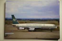 PIA  PAKISTAN AIRLINES  B  720 040B   AP AMG - 1946-....: Moderne