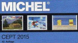 CEPT Briefmarken Katalog 2015 Neu 54€ MICHEL+JG-Tabelle EUROPA Vorläufer EG NATO EFTA KSZE Symphatie 978-3-95402-096-6 - Libri, Riviste, Fumetti