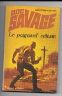 DOC SAVAGE  LE POIGNARD CELESTE  /  1973 - Aventure