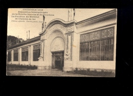 GRENOBLE Exposition Internationale De La Houille Blanche 1925 : Le Pavillon Du Matériel De Chemin De Fer - Grenoble