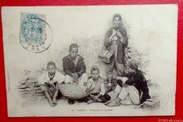 ALGER - Porteurs Et Cireurs - 1905 - Recto/verso - Profesiones