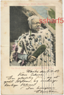 New Zealand MAORILAND The Great Maori Chief And Warrior Te Heu Heu Colour Card 1904 - New Zealand