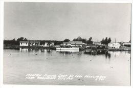RPPC Okeechobee Modern Fishing Camp On Lake Okeechobee City C.1930 - Vereinigte Staaten