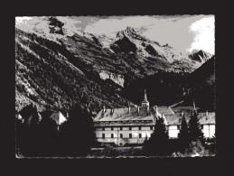 Carmel Du Reposoir - Le Monastère Et La Chaine Des Aravis .     Viaggiata. - Francia