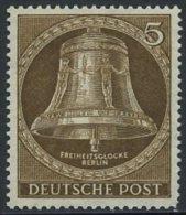 !a! BERLIN 1953 Mi. 101 MNH SINGLE - Freedom Bell - Neufs