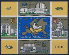 **Hungary 1980 Mi 3458 A Block 147A KSZE MNH - Ungebraucht