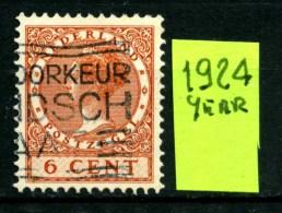OLANDA - NEDERLAND - Year 1924 - 6 Cent - Usato -used. - 1891-1948 (Wilhelmine)