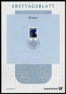 BRD - 2001 ETB 21/2011 - Michel 2877 - 500C   Blumen, Enzian - [7] Federal Republic