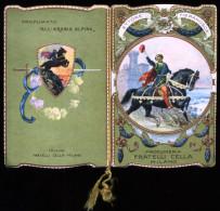 CALENDARIETTO 1919 - PROFUMERIA CELLA  MILANO - ETTORE FIERAMOSCA - OFFERTO DA: SALA DA BARBA PISANI BARI - Calendari