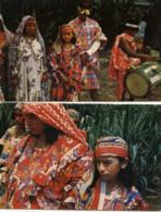 VENEZUELA  Lot  2 CP Tipos Goajiros  Ethnographie,peintures Sur Visages - Venezuela