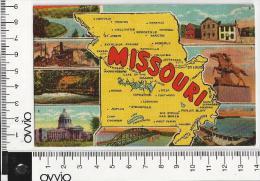 USA) MISSOURI -SAINT LOUIS - 1958 Viaggiata - St Louis – Missouri