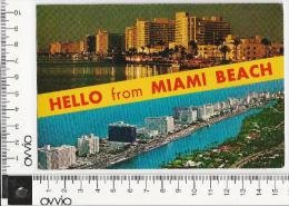 USA) MIAMI BEACH -1969 Viaggiata Aerea - Miami Beach