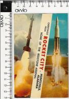 USA) HUNTSVILLE - Rocket City - 1966 Viaggiata Aerea - Huntsville